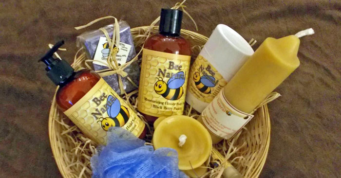 Swinkels Bee Products: Gift basket